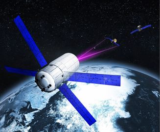 Laser-based Monitoring of Space Debris